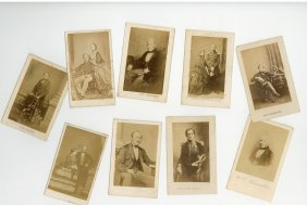 Collection Of Carte De Visit - Large Collection Of