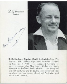 Australian Cricket - English Tour 1948 - A 1948