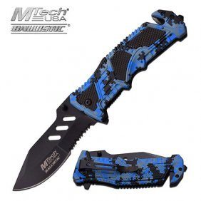 "Mtech Usa Spring Assisted Knife 4.75"" Closed"