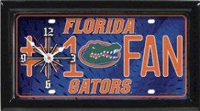 Gators Clock