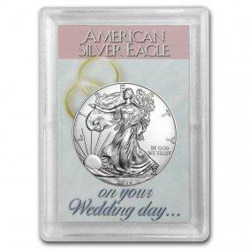 2016 1 Oz Silver American Eagle Bu (wedding Day, Harris