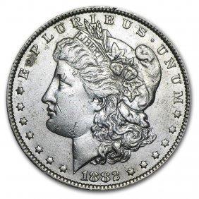 1882-o/s Morgan Dollar Au-50