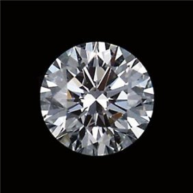 Gia Cert 0.73 Ctw Round Diamond I/vs1