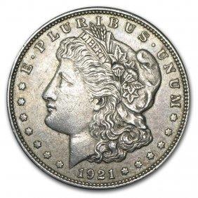 1921 P, D, Or S Mint Morgan Dollars Vg-xf