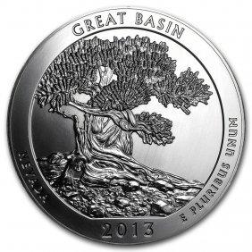 2013 5 Oz Silver Atb Great Basin National Park, Nv