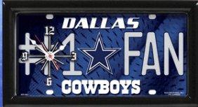 Cowboys Clock