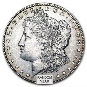 1878-1904 Morgan Silver Dollars Au (random Years)