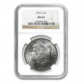 1878-s Morgan Dollar Ms-64 Ngc