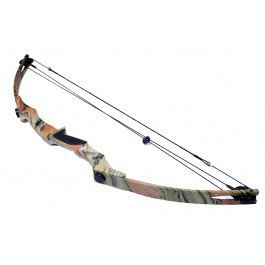 55lbs Camouflaged Compound Bow