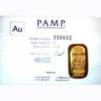 Pamp Suisse 50 Gram Gold Bar - Poured Design