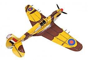 Handmade 1941 Curtiss Hawk 81a 1:36th Scale Model
