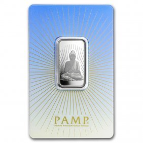10 Gram Silver Bar - Pamp Suisse Religious Series (budd