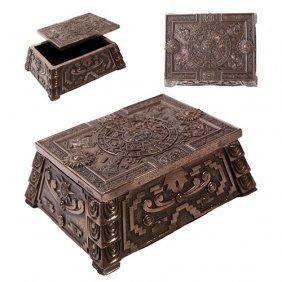Aztec Box Bronze