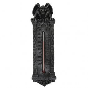 Gargoyle Thermometer