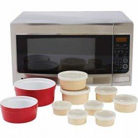 Lacuisine 18pc Microwave Stoneware Set