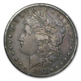 1892-s Morgan Dollar Vf
