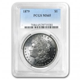 1879 Morgan Dollar Ms-65 Pcgs