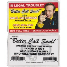 Saul Goodman Business Card