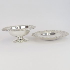 Two (2) Pieces Vintage S. Kirk & Son Sterling Silver