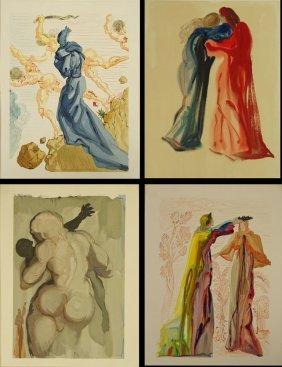 After: Salvador Dali, Spanish (1904-1989) Set Of Four