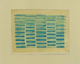 Sonia Delaunay, Ukrainian (1885-1979) Gouache On Tissue
