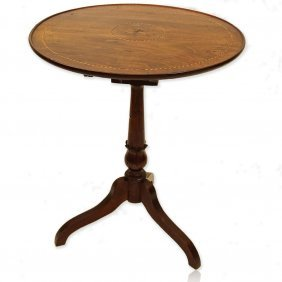Late 19th Century Italian Sorrento Occasional Table.
