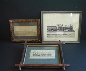 3 Locomotive Photos