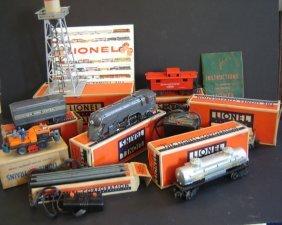Vintage 10Pcs. Lionel Train Set