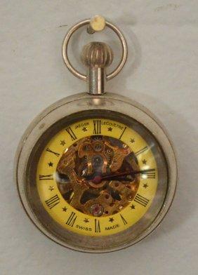Jaeger Lecoultre Skeleton Pocket Watch