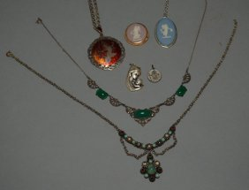 Nice Lot Of Costume & Sterling Silver Jewelry