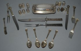 Lot Of Sterling Silver Flatware & Accessories