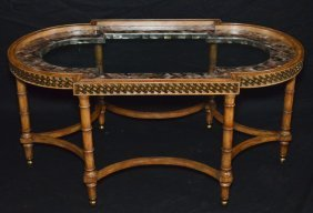 Maitland Smith Mother Of Pearl Coffee Table