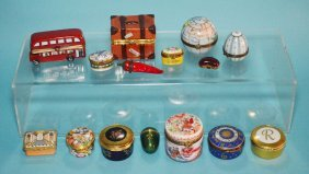 15 Limoges & Halcyon Days Boxes