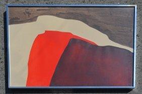 """Gilberte Brillant Signed Litho """"paysages"""""""