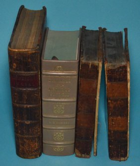 Collection Of Antique Medical Books