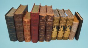 Lot Of Early Historical Reference Books