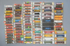 89 N-scale Model Trains Atlas, Minitrix, Roco
