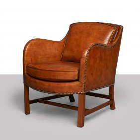 Kaare Klint And Edvard Kindt-larsen, Mix Lounge Chair