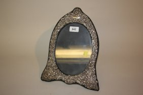 Modern Silver Mounted Victorian Style Photograph Frame