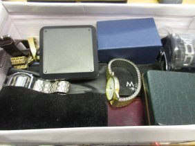 Quantity Of Various Ladies And Gentleman's Wristwatches