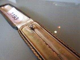 Victorian Solitaire Diamond Stick Pin