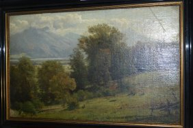 Late 19th / Early 20th Century Oil On Canvas Board,