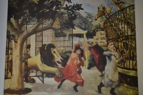Carel Weight, Signed Limited Edition Colour Lithograph,