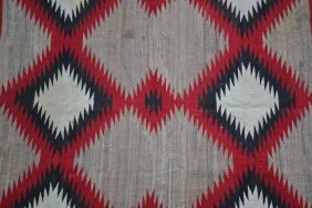 Navajo (north American Indian) Rug, First Quarter 20th