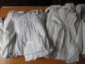 Large Quantity Of Various Embroidered And Lace Baby