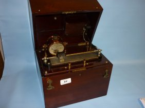 Mahogany Cased Electric Shock Treatment Machine By C.