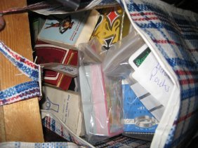 Large Quantity Of Various Advertising Playing Cards