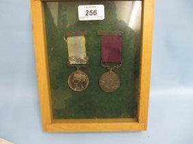 1854 Crimea Medal Bearing Alma Clasp And A Long Service