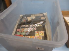 Two Albums Containing A Collection Of Hong Kong Stamps