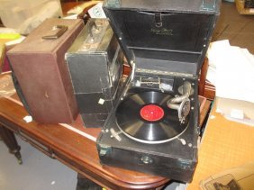 Mayfair Deluxe Model Table Top Wind-up Portable